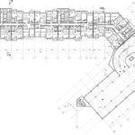 Архитектурное проектирование. План типового этажа