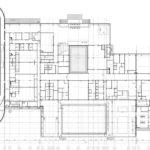 Архитектурное проектирование. Схема первого этажа