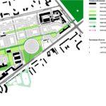 Схема основных пешеходных направлений