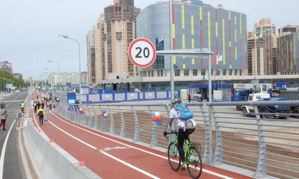 В Мурманске стартовал марафон городских изменений #URBANSPRINT по созданию быстровозводимой велоинфраструктуры