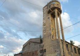 На Васильевском острове началась реставрация Канатного цеха с водонапорной башней